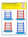 Back to School Word Ladders