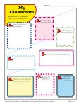 Free, Printable Back to School Classroom Activity