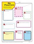 Free, Printable Back to School Classroom Activity