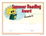Printable reading award certificates k12reader printable reading award certificates yadclub Choice Image