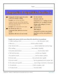 Comparative and Superlative Adverb Worksheet Practice Activity