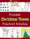 Christmas Preschool Theme Activities