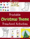 Christmas Preschool Theme Activities