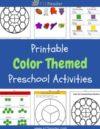 Colors Preschool Theme Activities