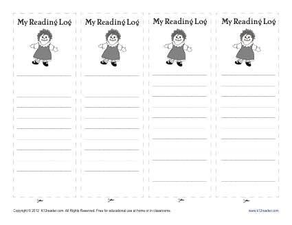 Doll Printable Bookmark for Kids