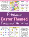 Easter Preschool Theme Activities