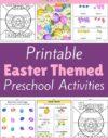 Easter Preschool Theme Activities