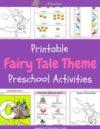 Fairy Tales Preschool Theme Activities