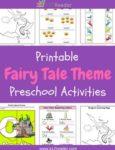 Fairy Tale Themed Printable Activities for Preschool