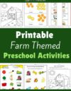 Farm Preschool Theme Activities