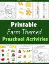 Farm Preschool Theme Activities