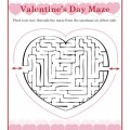 Valentine's Day Maze Activity