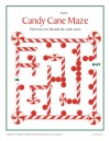 Candy Cane Maze Activity