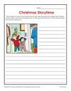 Christmas Storytime Worksheet