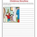 Christmas Worksheet Activity - Story Time Writing Prompt