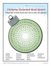 Ornament Word Search Worksheet