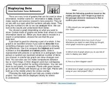 displaying data 3rd grade reading comprehension worksheet. Black Bedroom Furniture Sets. Home Design Ideas