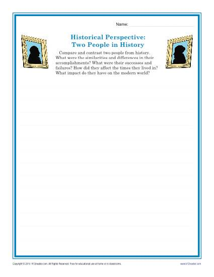 two people in history descriptive writing prompt for 9th 12th grade. Black Bedroom Furniture Sets. Home Design Ideas