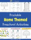 Home Preschool Theme Activities