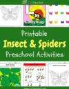 Insects and Spiders Preschool Theme Activities