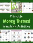 Money Themed Printable Activities for Preschool