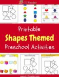 Shapes Themed Printable Activities for Preschool
