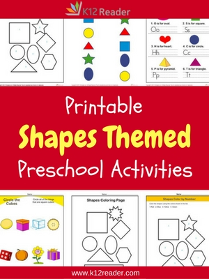 image about Printable Shapes for Preschoolers identified as Designs Preschool Concept Things to do Printable Clroom Courses