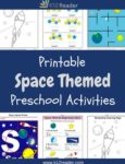 Space Themed Printable Activities for Preschool