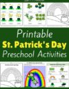 St. Patrick's Day Preschool Theme Activities
