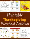 Thanksgiving Preschool Theme Activities