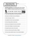 Using a Comma with Coordinating Conjunctions - Free, Printable Worksheet