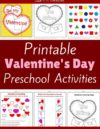 Valentine's Day Preschool Theme Activities