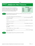 High School Spelling Words Worksheets - Week 36 - Consonants: More Concerns