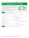 High School Spelling Words Worksheets – Week 3 - Consonants: Double or Single