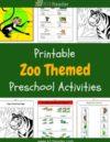 Zoo Preschool Theme Activities