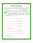 Add and Interjection Worksheet Practice Activity