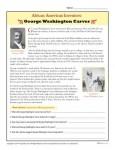 Printable African American Inventors Activity - George Washington Carver