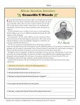 African American Inventors Reading Activity - Granville T. Woods