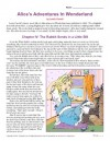 Alice in Wonderland Reading Comprehension Set