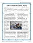 Black Beauty - Printable Reading Comprehension Set