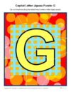 Capital Letter Jigsaw Puzzle: G