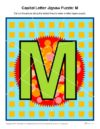 Capital Letter Jigsaw Puzzle: M
