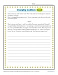 Changing Modifiers Worksheet