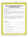 Character Description Worksheet - Characters from Rikki-Tikki-Tavi