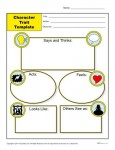 Character Traits Worksheet Template