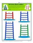 Christmas Word Ladder Activity