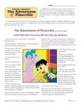 Classic Literature Worksheet - The Adventures of Pinocchio
