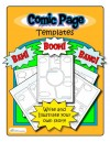Comic Strip Templates – 5 Designs