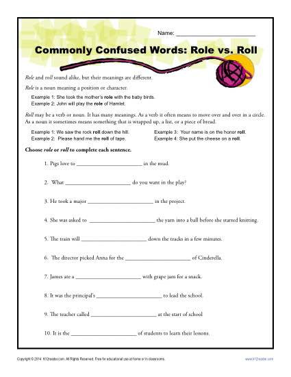Already vs. All Ready Worksheet | Commonly Confused Words