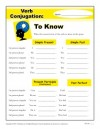 Verb Conjugation: To Know